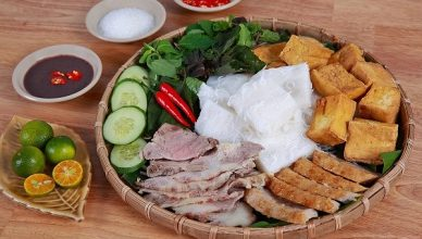 bun dau mam tom 1 388x220 - Types of Vietnamese Noodles to Eat the Best