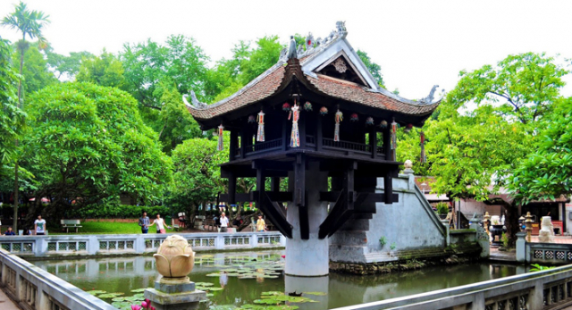 The One Pillar Pagoda 640x480 - NORTH VIETNAM TOUR (07 DAYS)
